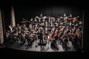 2013, Michoacan Symphony Orchestra. Photo, Ramon Merino