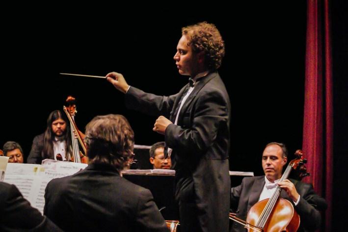 2013, The Beethoven cycle. Michoacan Symphony Orchestra. Photo, Ramon Merino