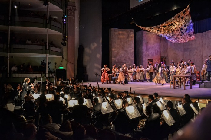 2014, OPERA CARMEN. Teatro Obrero, Zamora, Mich., Mexico