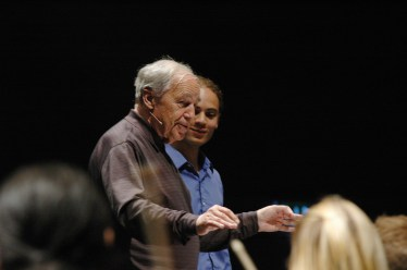 2005, Conducting Master Class with Pierre Boulez. Lucerne Festival Academy. On works by Edgar Varese and Alban Berg
