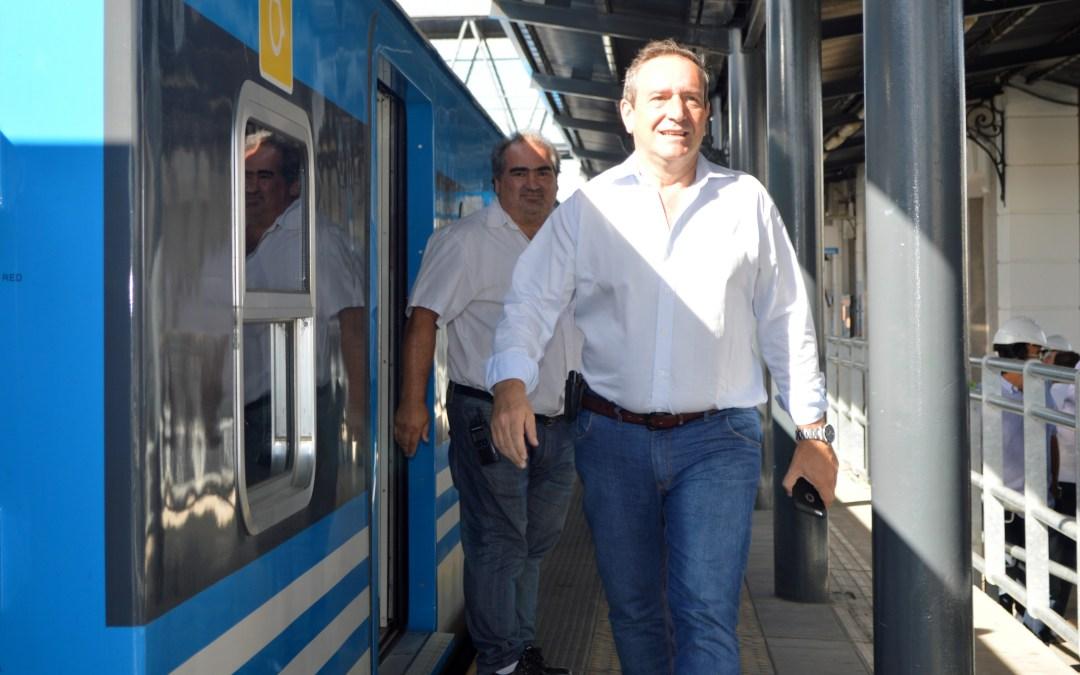 Obras en la Estación González Catán