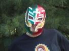 My Lucha Libre mask I bought at La Sirena
