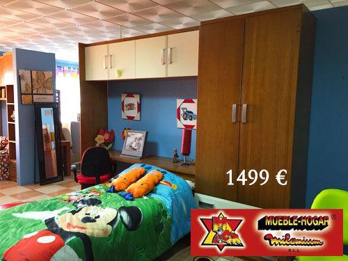 50 descuento en dormitorios de Madera Maciza con Mueble