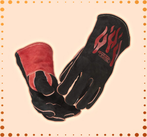 Lincoln Electric Traditional MIG or Stick Welding Gloves