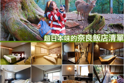 奈良住宿推薦》便宜又超值~超日本味的奈良飯店清單 細細品味奈良兩天一夜更好玩