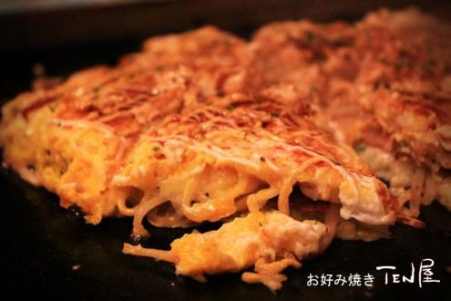 台北》永康街居酒屋日式料理:TEN屋好吃燒、鐵板燒專門店,串燒也好好吃