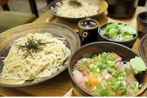 ►東區日式餐廳推薦:Yudetarou蕎麥麵(平價量多),夏天就是要吃清爽冷麵降降溫!