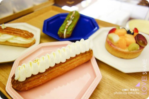 台北》永康商圈8%ice甜鹹點心屋,日式老建築mix百變閃電泡芙 超好吃