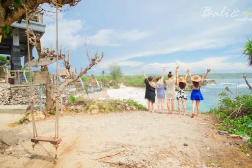 峇里島》藍夢島好吃又美麗的餐廳分享 環島看超震撼大海的眼淚