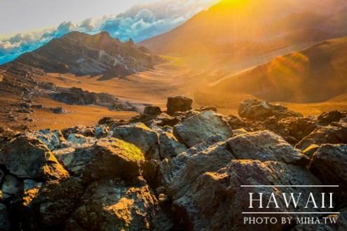 夏威夷》地球表面的內太空 Haleakala國家公園 千變萬化的神奇日出