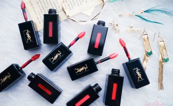 YSL奢華緞面漆光唇釉 能輕透能飽和一支抵三支的夢幻唇彩