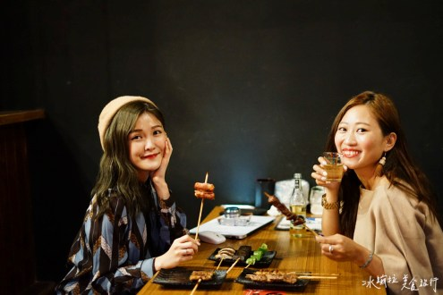 台北》平價聚餐餐廳超值的燒烤 #柒串燒 口味豐富海鮮很好吃 下班來喝一杯放鬆一下