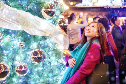 台北》COMMUNE A7貨櫃市集 貴婦百貨聖誕村 101信義區下雪了!美麗耶誕節三大景點