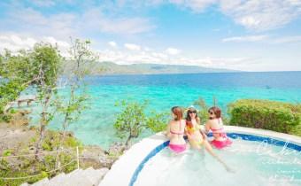 宿霧》Sumilon blue water一島一飯店 慵懶享受滿滿24小時海洋星空美景