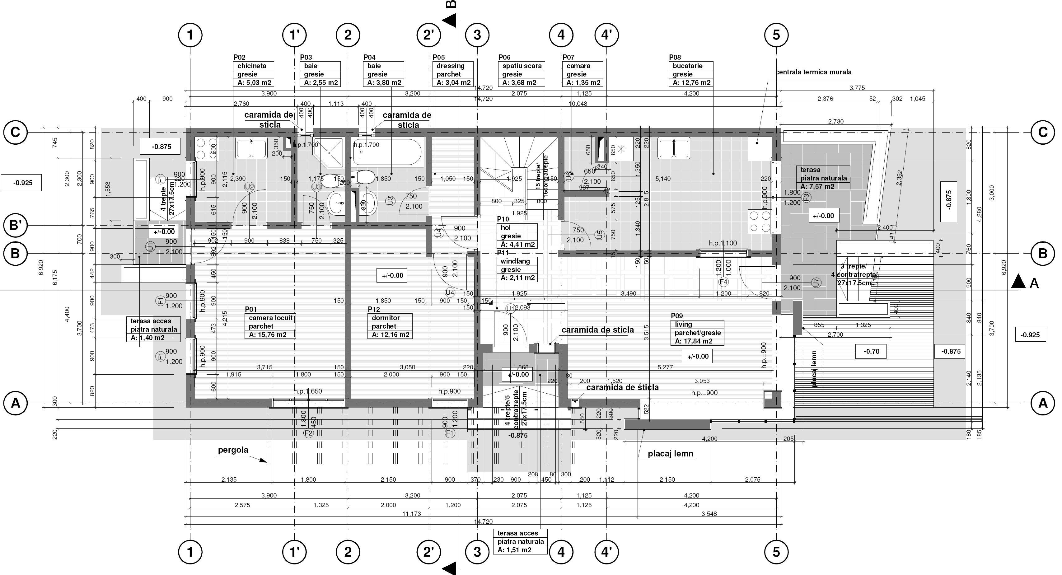 Proiect Casa Open Space