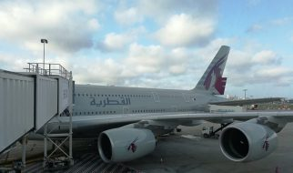 Airbus A 380 Qatar Airways