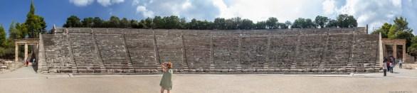 Teatrul de la Epidaur pano 2