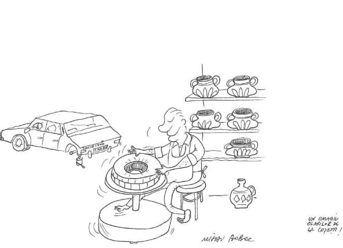 Roata olarului - traditional 7