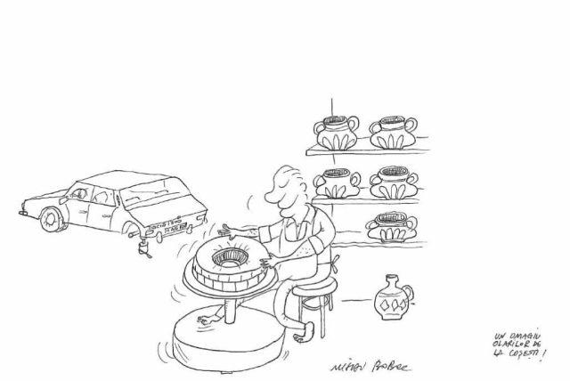 Roata olarului - traditional 1