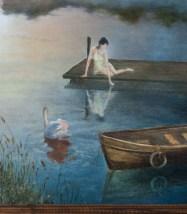 Свидание. Девушка и лебедь. Часть 1.