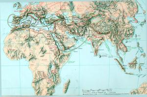 World circa 1500