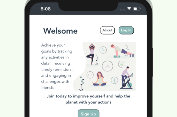 Welsome - An app that helps us be better humans with our actions