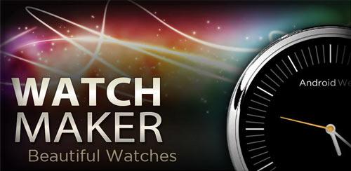 Watch-Maker WatchMaker Premium Watch Face 3.9.3 Final Apk is Here! Apps
