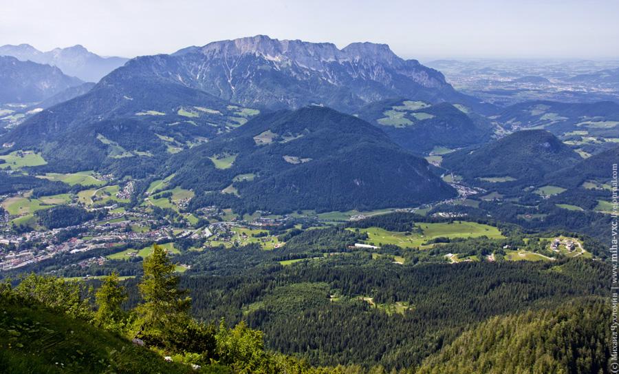 Вид на Австрию с Орлиного гнезда