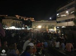 Musical show at Monastiraki