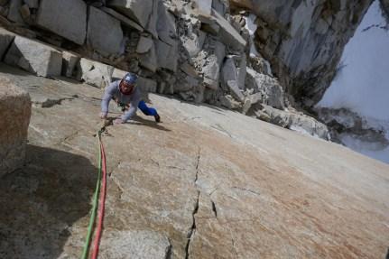 A nice rock climb