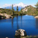 シャスタ山のおすすめスポットのハートレイクは天界のエネルギー