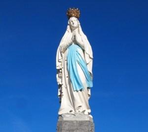 Lourdes, フランスのルルド、マリア様出現、奇跡のお水の場所。