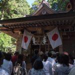 【熊本のパワ―スポット】弊立神宮の8月23日五色人祭に行って来ました!