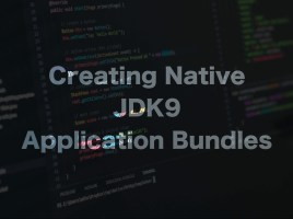Native JDK9 App Bundles