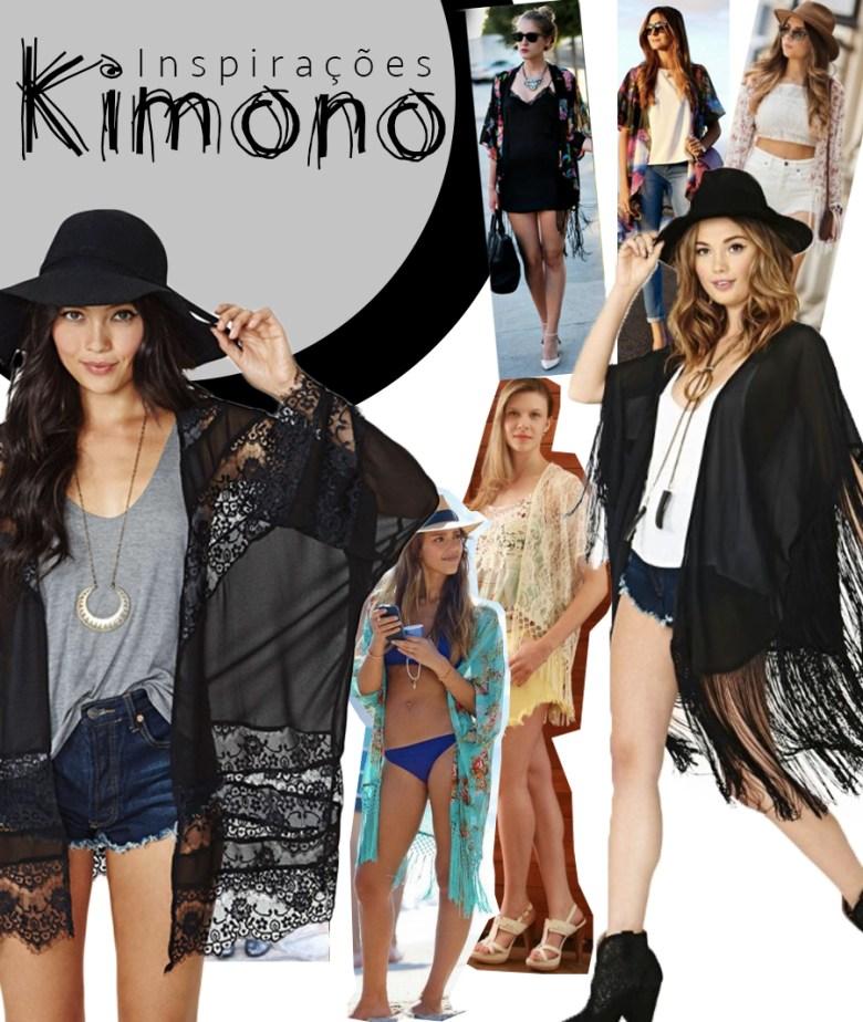 A moda dos Kimonos