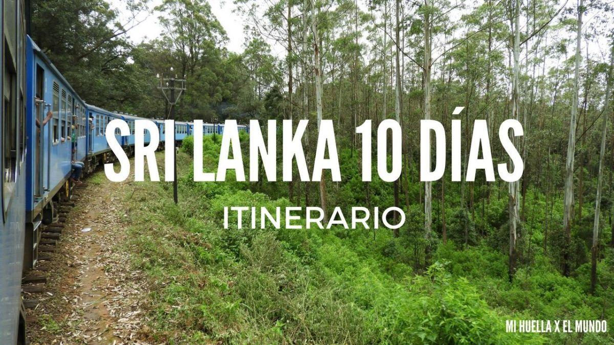ITINERARIO SRI LANKA 10 DÍAS + MALDIVAS