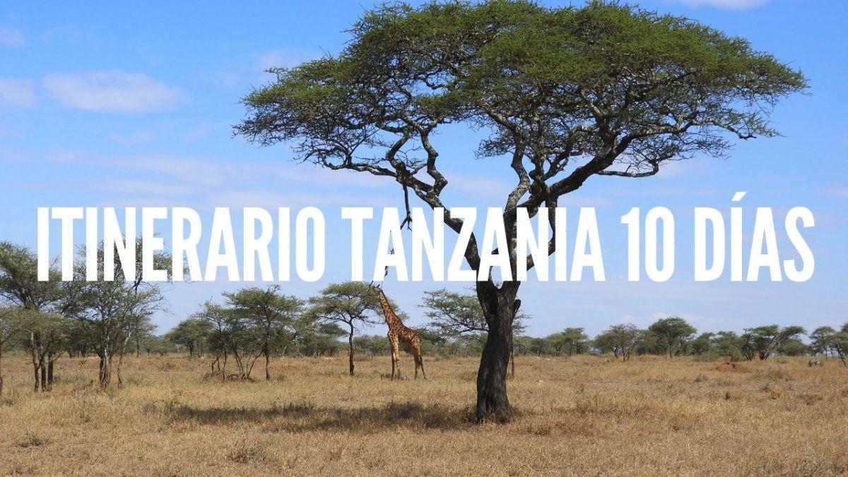 ITINERARIO TANZANIA 10 DÍAS