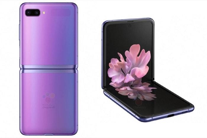 Samsung Galaxy Z Flip с утечкой рендеринга демонстрирует телефон во всей красе