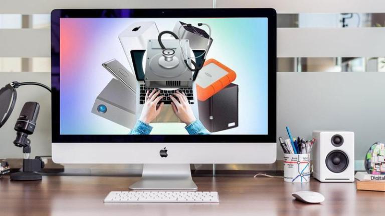 Как открыть внешний диск, который не отображается на Mac