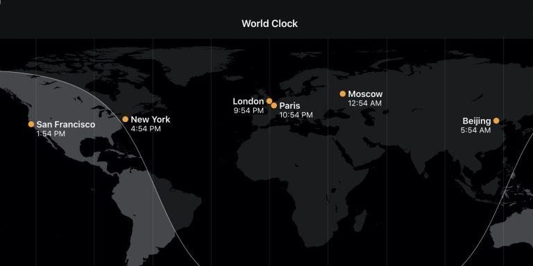 Как проверить часовые пояса на iPhone, iPad, Mac, Apple Watch