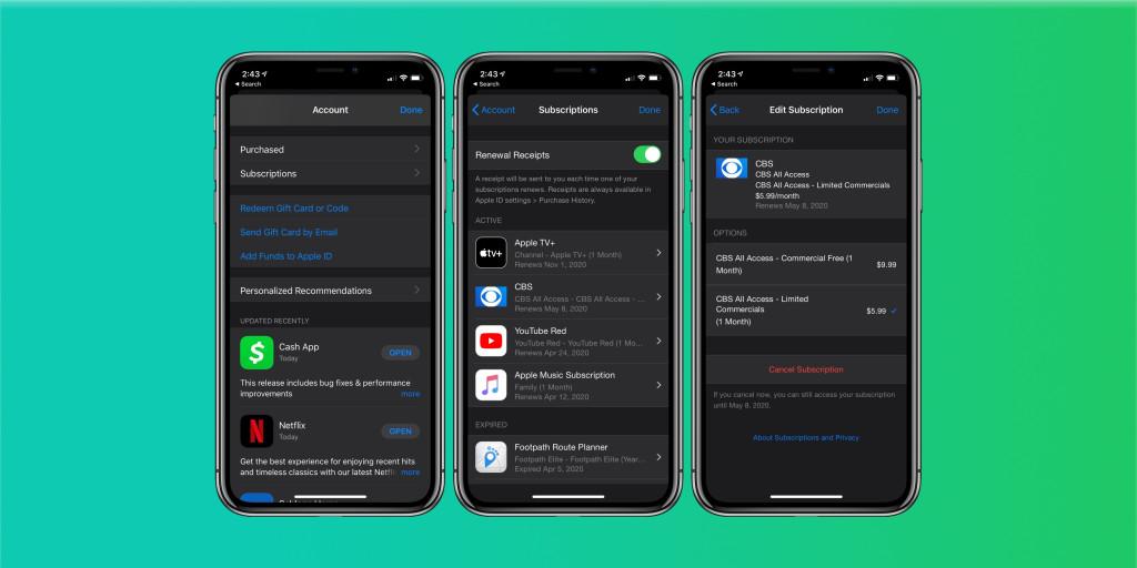 Как отменить бесплатные пробные версии и подписки Apple на iPhone, iPad