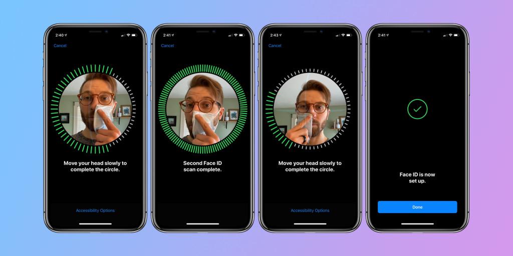 iPhone: как использовать Face ID с маской