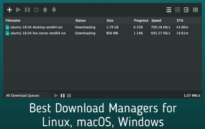 8 лучших менеджеров загрузок для Windows, macOS и Linux в 2020 году