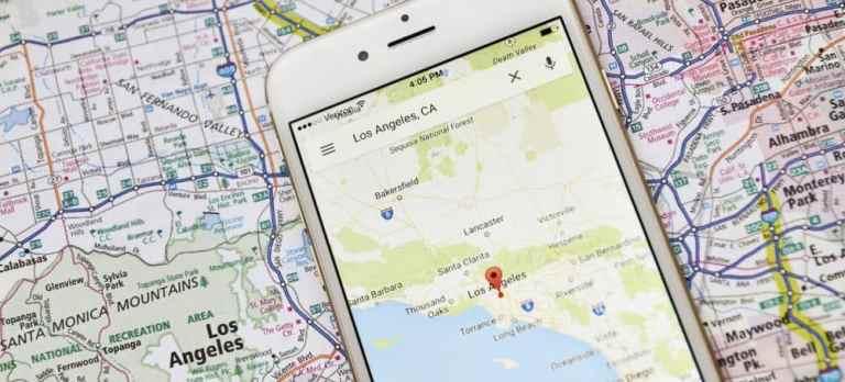 Как измерить расстояние между местоположениями на Google Maps