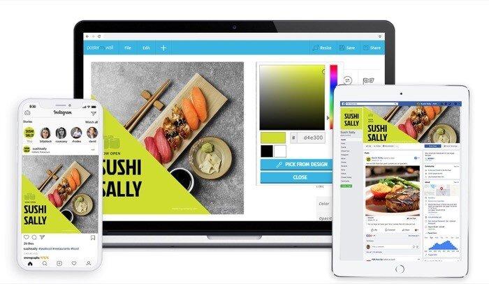 Создавайте профессионально выглядящую графику для личного и делового использования с помощью PosterMyWall