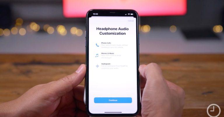 Как настроить звук в наушниках iPhone в iOS 14