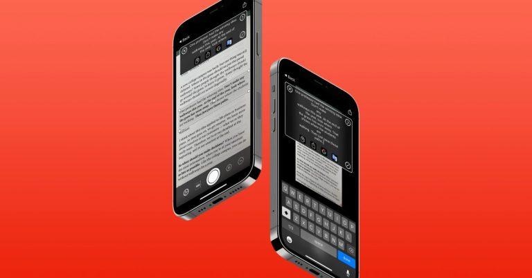 Изображения iPhone в текст: как конвертировать скриншоты, картинки и т. д.
