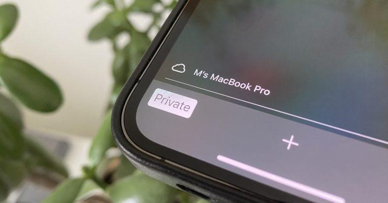 Как использовать приватный просмотр на iPhone и iPad