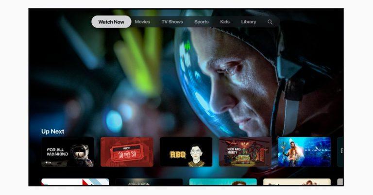 Как сбросить настройки приложения Apple TV на смарт-телевизоре