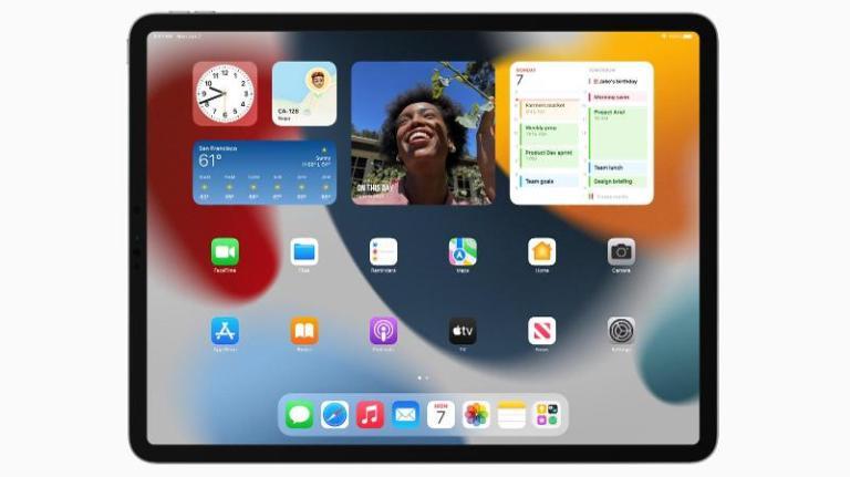 Как добавить виджеты на главный экран iPad